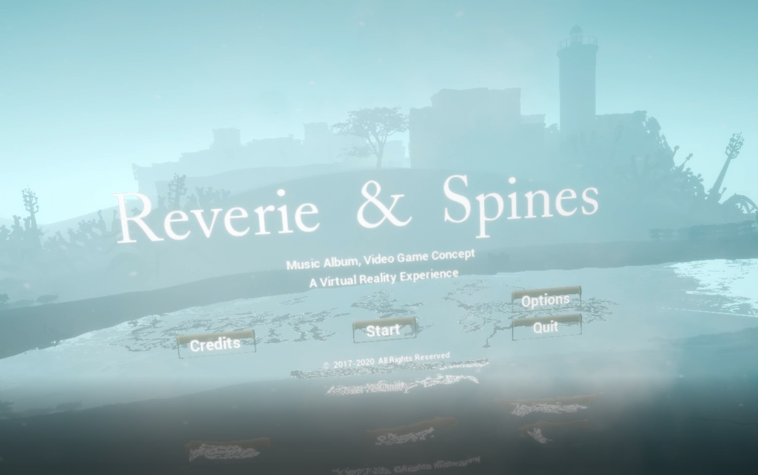 """Reverie & Spines"" A VR video game released for Oculus Users"